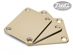 NECK PLATE STANDARD GOLD (BULK PACK 3PCS)