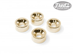 NECK BUSHING GOLD 12 X 6 mm  (4PCS)