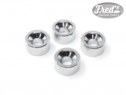 NECK BUSHING CHROME 12 X 6 mm  (4PCS)