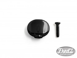 REPLACEMENT ROUND BUTTON (FOR HIPSHOT, KLUSON AND MORE) BLACK