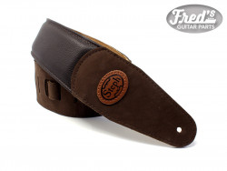 STEPH STRAP ULTRA SOFT PADDED COWHIDE BROWN