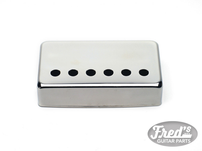 52.8mm SILVER COVER FOR HUMBUCKER CHROME