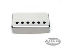 50mm SILVER COVER FOR HUMBUCKER CHROME