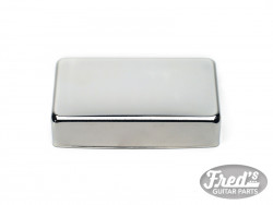 CLOSED SILVER COVER FOR HUMBUCKER CHROME