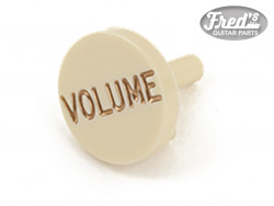 Stratocaster® S-1™ Switch Knob Cap, Aged White (each)