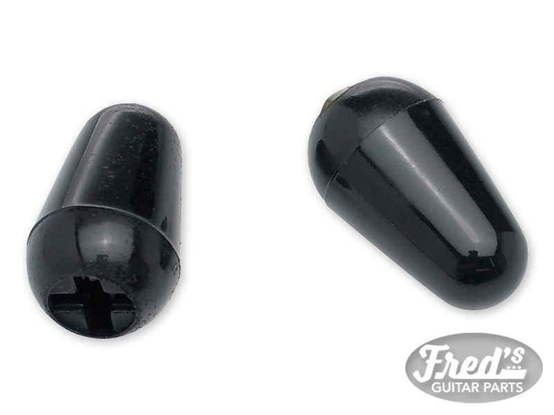 Stratocaster® Switch Tips, Black (2)