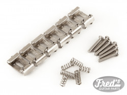 Pure Vintage Stratocaster® Pat. Pend. Saddle Kit, Nickel-Plated