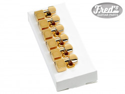 American Standard Series Stratocaster®/Telecaster® Tuning Machines Gold (6)