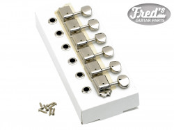 American Vintage Stratocaster®/Telecaster® Tuning Machines, Left-Handed (Nickel)