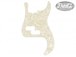 Pickguard, Precision Bass®, 13-Hole Mount, Aged White Pearl, 4-Ply