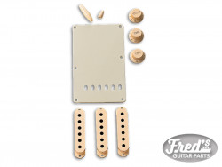 Accessory Kit, Stratocaster®, Aged White