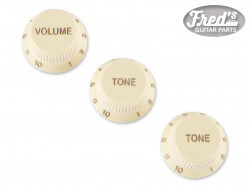 Stratocaster® Soft Touch Knobs, Aged White