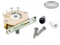 5-Position Modern-Style Stratocaster® Pickup Selector Switch