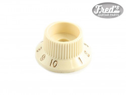 Stratocaster® S-1™ Switch Knobs, Aged White