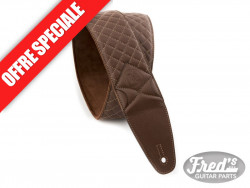 VALENCIA LEATHER STRAP-BURLYWOOD BROWN CS