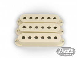 ALL PARTS® PICKUP COVERS FOR STRAT® VINTAGE CREAM SET (3pcs)