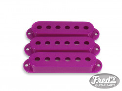 ALL PARTS® PICKUP COVERS FOR STRAT® PURPLE SET (3pcs)