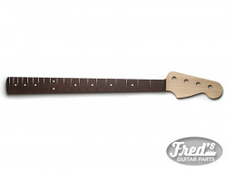 ALL PARTS® NECK FOR PRECISION® BASS MAPLE/ROSEWOOD 20F LBF NO FINISH