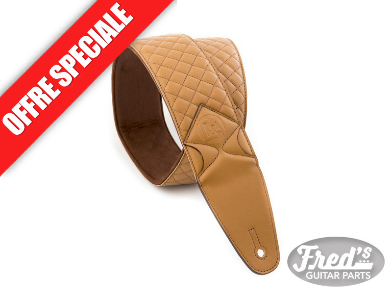 VALENCIA LEATHER STRAP-CALIFORNIA CARAMEL