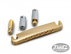 GOTOH 510FA TAILPIECE EA-82mm GOLD WITH LOCKING STUDS