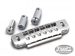 GOTOH GUITAR BRIDGE et TAILPIECE 510 CHROME