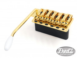 WILKINSON VINTAGE TREMOLO SET (6 VIS+STEEL BLOCK) GOLD