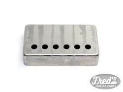 PICKUP COVER FOR HUMBUCKER NICKEL SILVER 52.8mm STRING SPACING AGED
